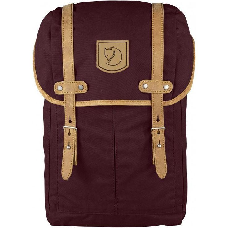 Fjällräven Rucksack No. 21 Small Backpack   Dark Garnet