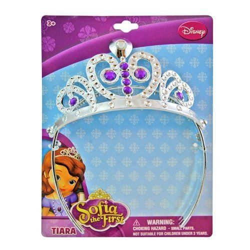 Disney Princess Sofia the First Tiara - Silver and Purple -- Read more reviews of the product by visiting the link on the image.