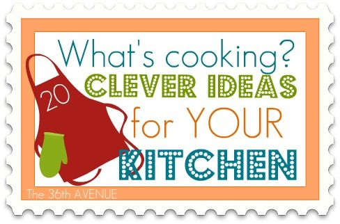 clever ideas for your kitchenDiy Ideas, Diy Kitchens, Clever Cooking, Food Kitchens, Awesome Kitchens, Awesome Ideas, Clever Ideas, Clever Kitchens, Diy Tips Ideas