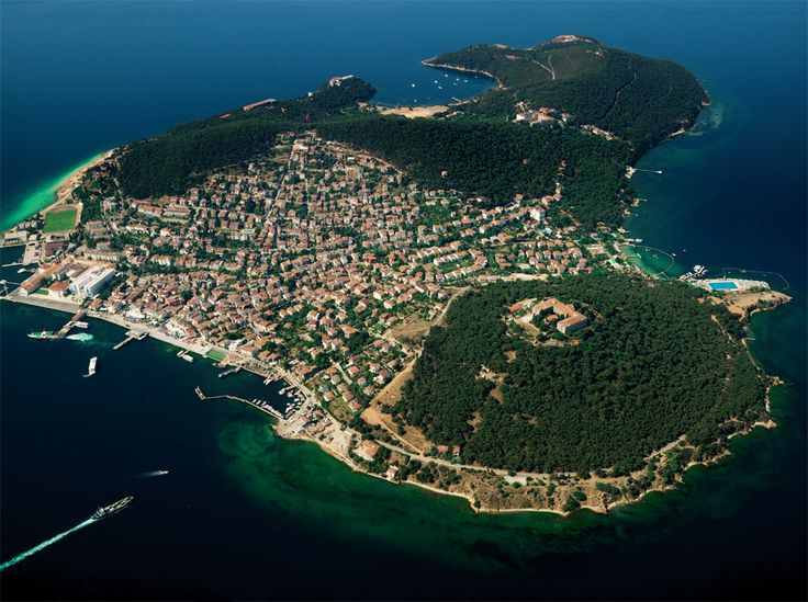 Heybeliada is the Second Largest of the Prince Islands in the Sea of Marmara, near Istanbul
