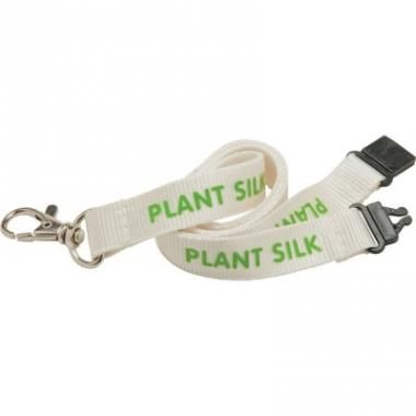 Promotional Eco Lanyards - 20mm Plant Silk Lanyard - Natural colour :: Lanyards :: Promo-Brand Merchandise :: Promotional Branded Merchandise Promotional Products l Promotional Items l Corporate Branding l Promotional Branded Merchandise Promotional Branded Products London