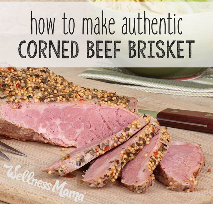Avoid the chemicals this year by brining your own corned beef brisket with all natural herbs and spices. It's simple!