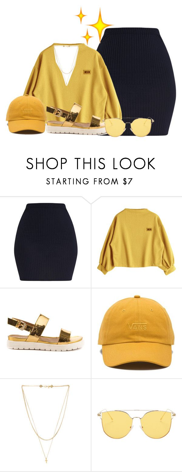 """""""I got sunshine on a cloudy day*!!"""" by shaniaa093 on Polyvore featuring ALDO, Vans and Vanessa Mooney"""