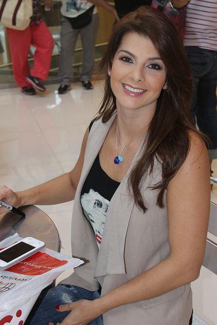 Carolina Cruz, Firma de autógrafos. Noviembre 2014