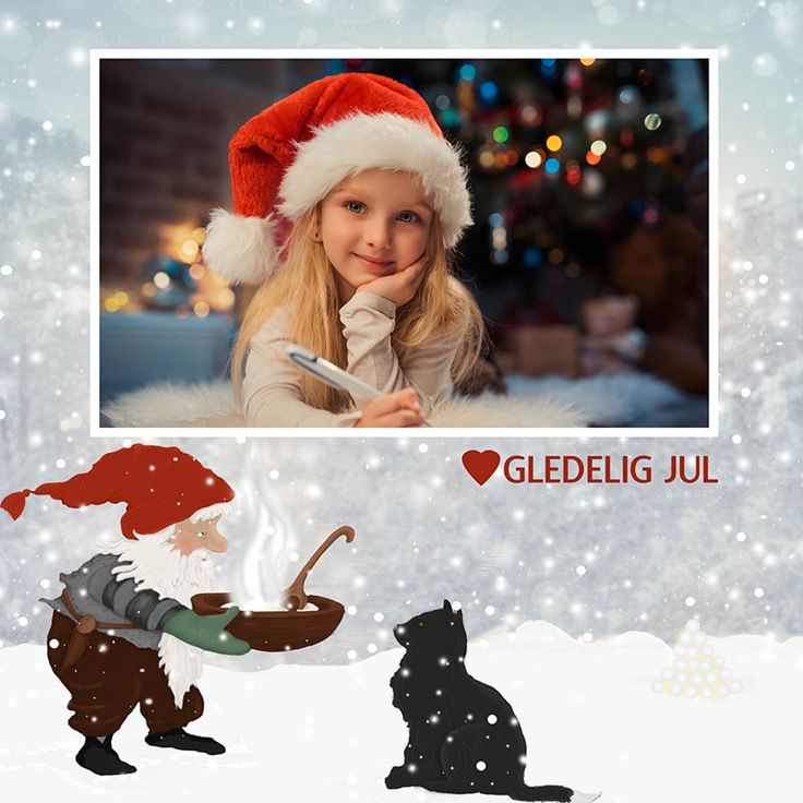 Bestill julekort med ditt bilde fra Eurofoto