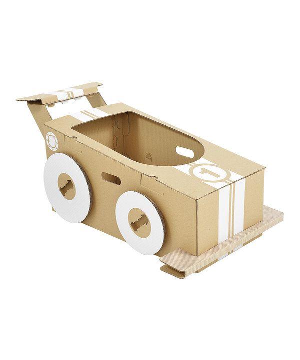 Look what I found on #zulily! Little Cardboard Racer by flatout frankie #zulilyfinds