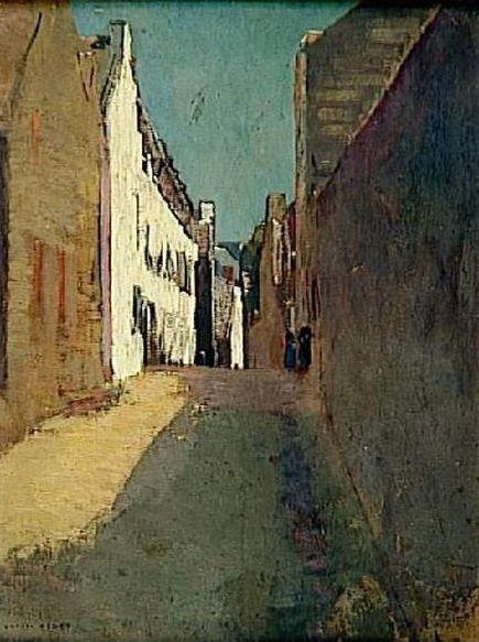 Odilon Redon - Rue à Douarnenez
