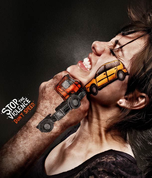 Stop the Violence – Une campagne de prévention choc
