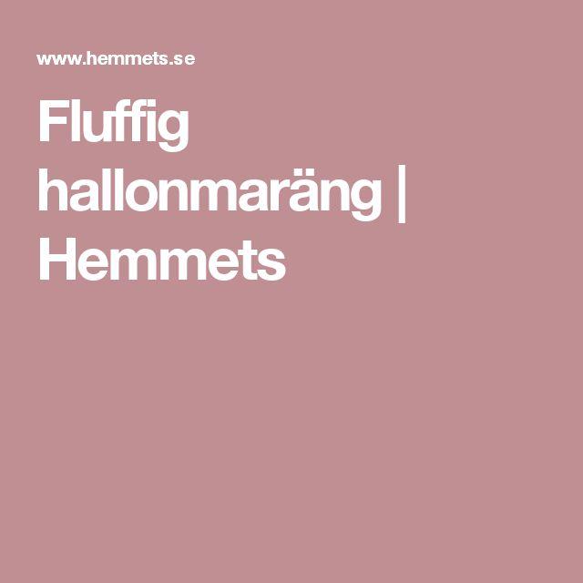 Fluffig hallonmaräng | Hemmets