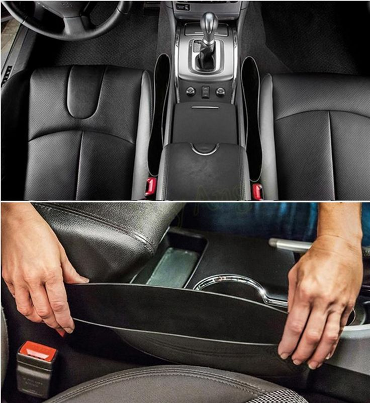 Leave your drink holders in your car for your drinks!! No more clutter in your cup holders or on your console. Our NEW Car Catcher Side Organizers are the best!