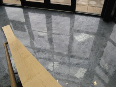 silver stained concrete floor add a little charcoal a minute rh pinterest com