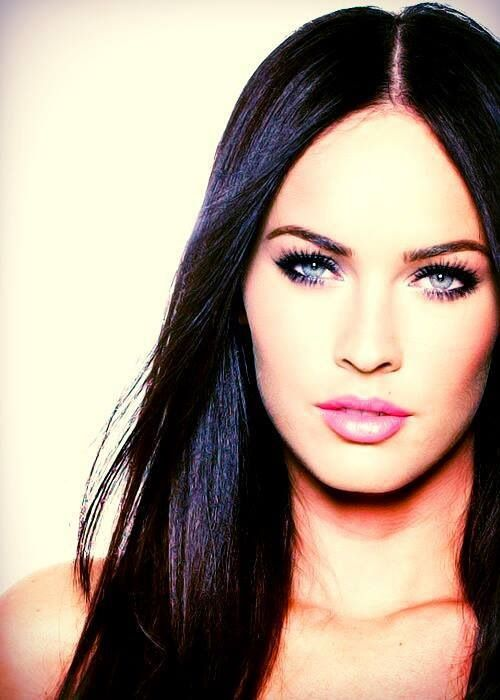 Megan Fox she is so beautiful.....love her hair and makeup in this pic