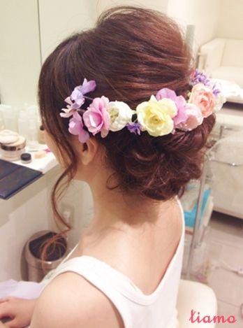 色んなスタイルでオシャレにイメージチェンジ✩リハ編 の画像|大人可愛いブライダルヘアメイク『tiamo』の結婚カタログ