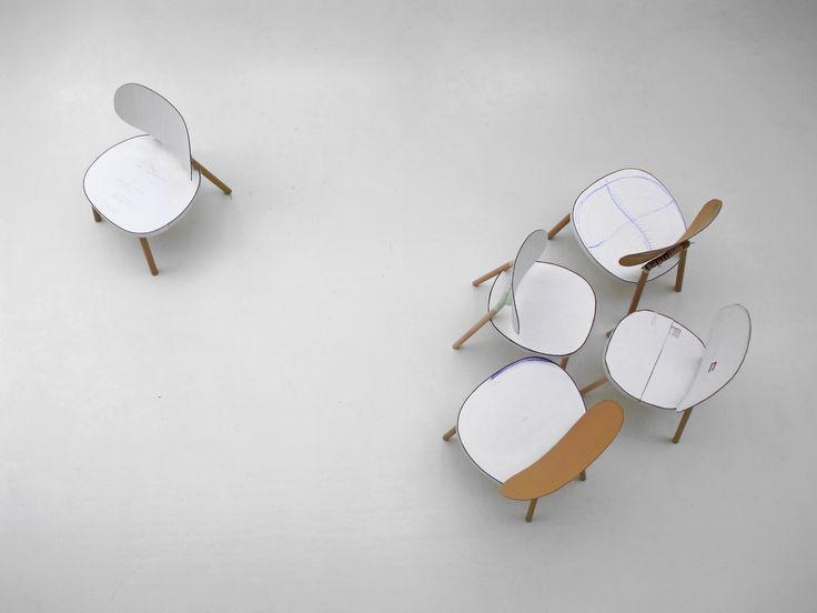 KITT flat-pack chair for HAY, making of, picture by Stefan Diez Office www.stefan-diez.com