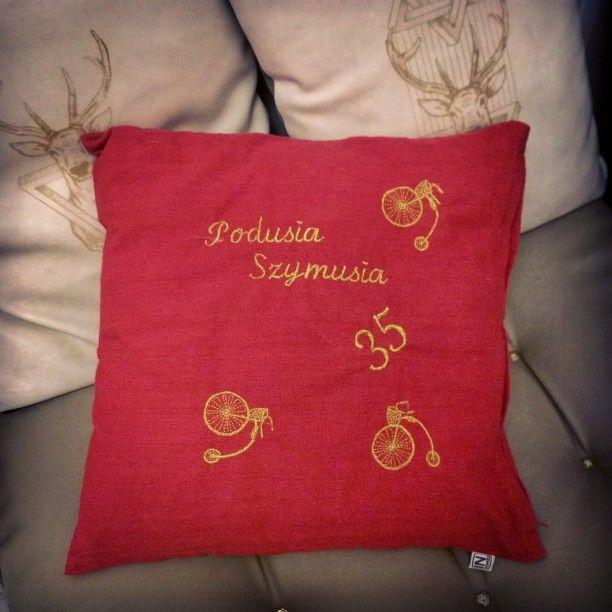 #embroidery #sewing #pillow #case #gift #birthday #dedication #design #poduszka #wykonamy #haft #okolicznościowy #poduszka #prezent #dedykacja #koszalin #szczecin #warszawa