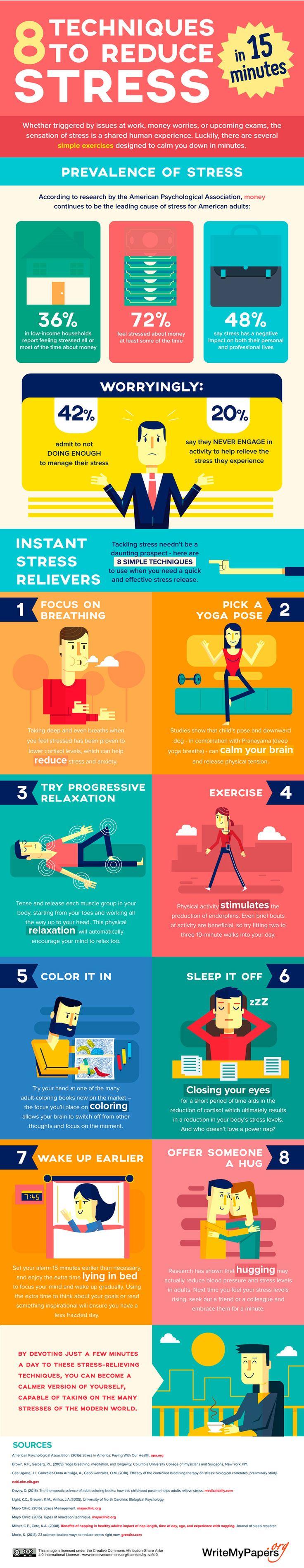 9 technieken om Stress te verminderen