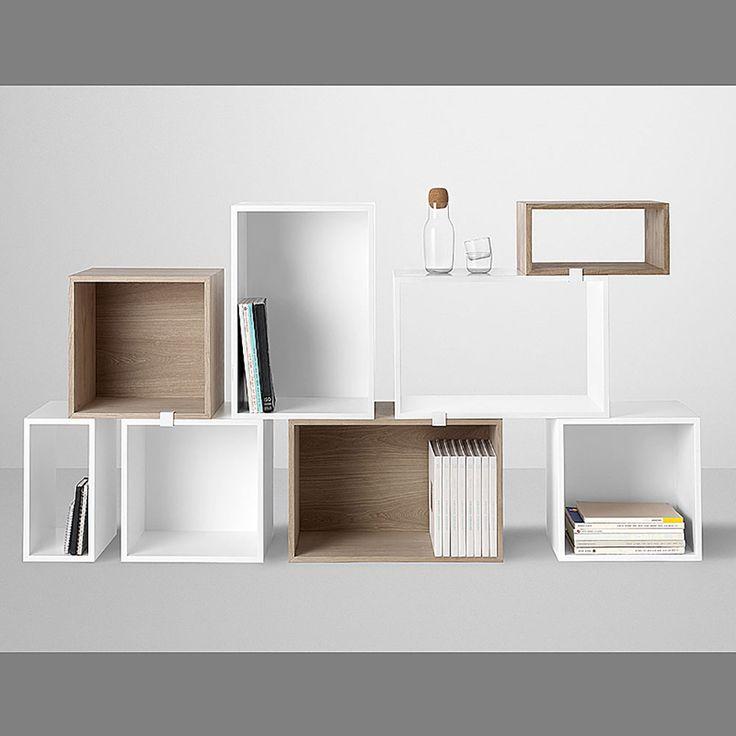 top3 by design - MUUTO NEW NORDIC - muuto stacked shelf open ash S