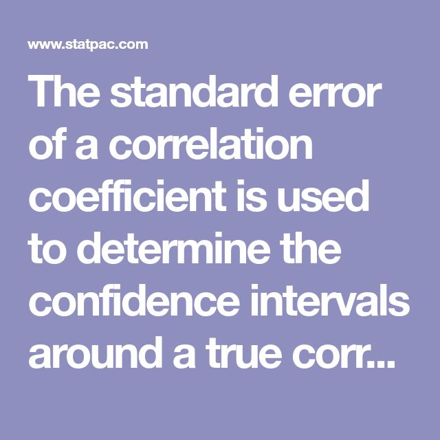 The standard error of a correlation coefficient is used to determine the confidence intervals around a true correlation of zero. If your correlation coefficient falls outside of this range, then it is significantly different than zero.