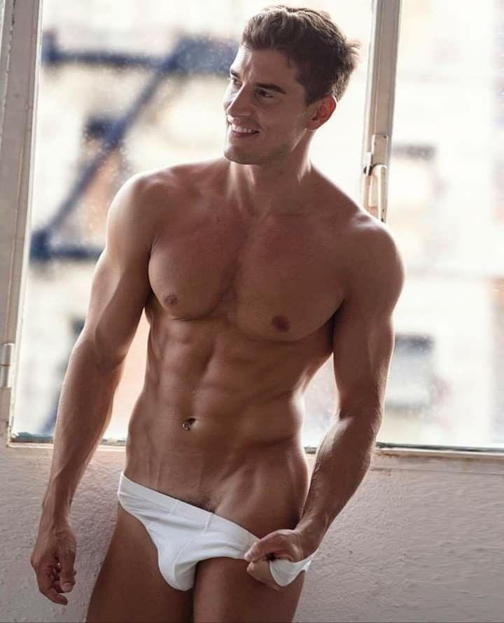b377841fe22141 Sexy Body, White Underwear, Men's Underwear, Lets Make Love, Sexy Men,