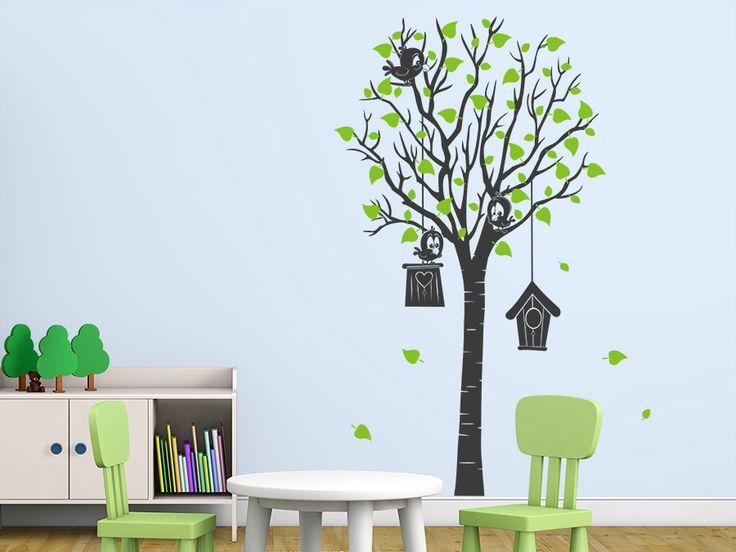 Cool Baum Bunte Ideen f r die Wand