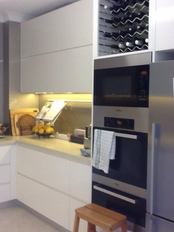 Wine rack warming oven double oven & mircowave