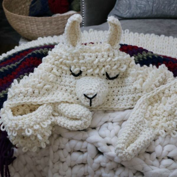 Alpaca My Llama Blanket Crochet Pattern Mj S Off The Hook Designs Crochet Blanket Patterns Crochet For Beginners Blanket Crochet Patterns