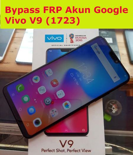 Bypass Frp Akun Google Dan Pattren Unlock Vivo V9 1723 Dengan