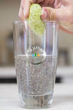 Semillas de chía con zumo de limón para el colesterol