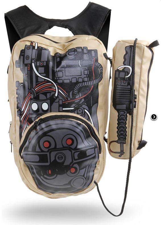 Ghostbusters ghost busting backpack