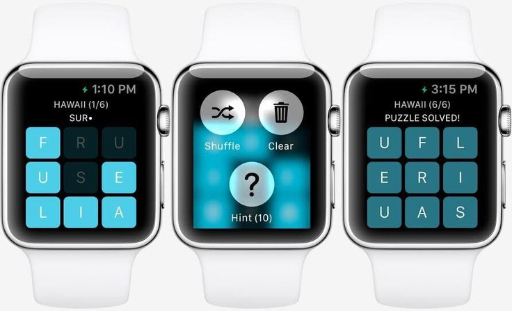 Apple Watch - Jeu