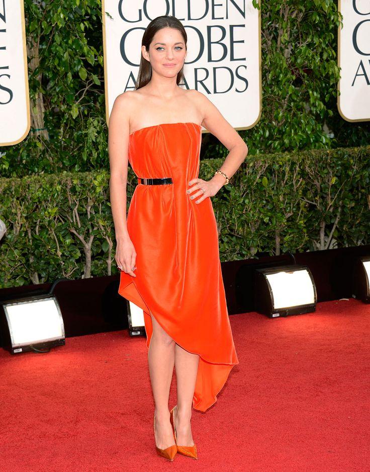 Golden Globes 2013 - Marion Cotillard in Christian Dior