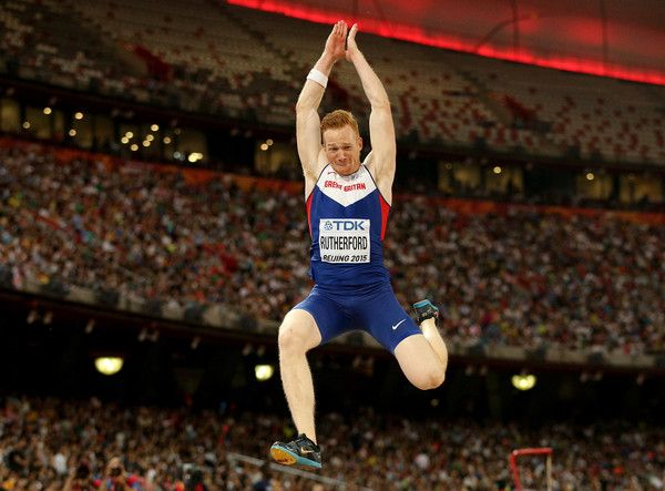 Greg Rutherford of Great Britain competes in the Men's Long Jump final during day four of the 15th IAAF World Athletics Championships Beijing 2015 at Beijing National Stadium on August 25, 2015 in Beijing, China.