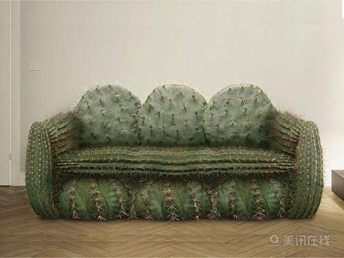 Необычный дизайн для дивана