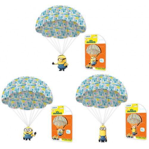 Minions Parachuter Bob, Stuart and Kevin from Funstra Toys