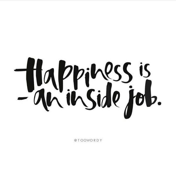 Despite the fact that most people search for it outside of themselves, happiness is an inside job.. REPIN and click the image to read the full post! |The Red Fairy Project