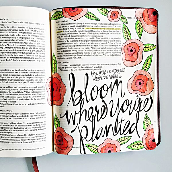 Tiffany Illustrated Faith FAvorite Page