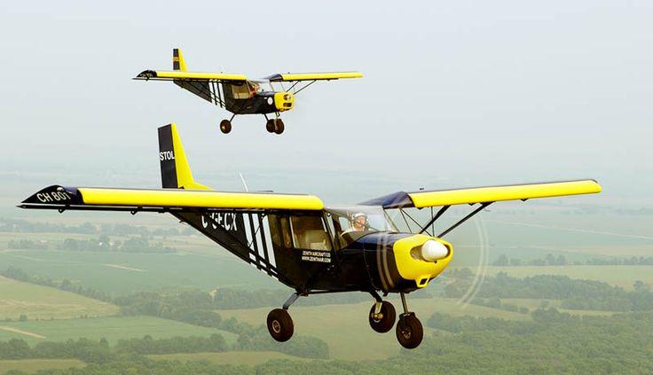Sport Pilot Ready Kit Aircraft: STOL CH 701 light sport utility kit plane - the ultimate short take-off and landing sport kit airplane