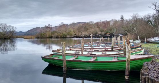 Boat hire on Caragh Lake