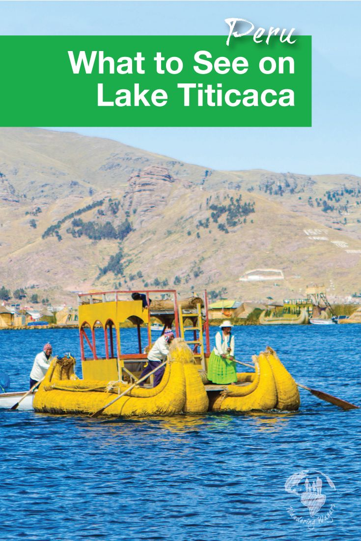 Lake Titicaca Peru | Lake Titicaca in Peru is the largest lake in South America. It is also the highest navigable lake in the world. So we just had to include it in our must see places when visiting Peru.