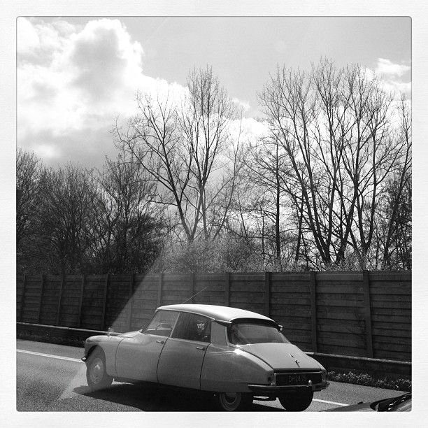 Citroen DS alive on the road