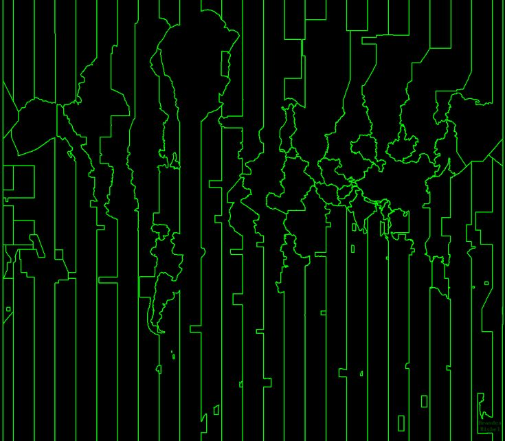 cartographerswithoutborders:  Just time zones.  More minimal maps >>