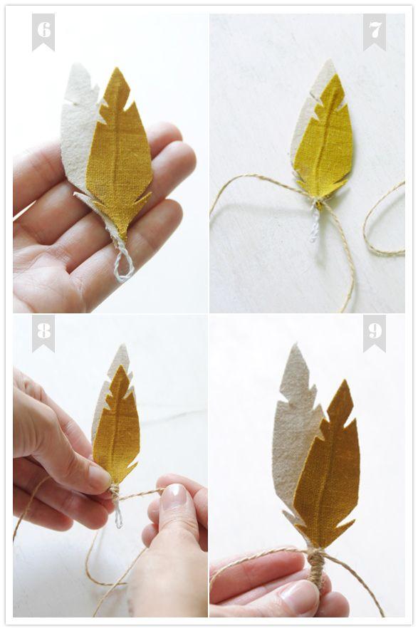 plume en tissue