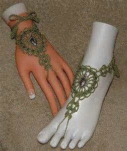Resultado de imagen de Barefoot Sandals Crochet Pattern Free