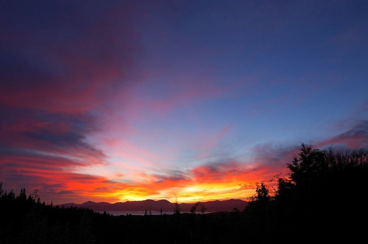 New Zealand Time Zones - Another great sunrise