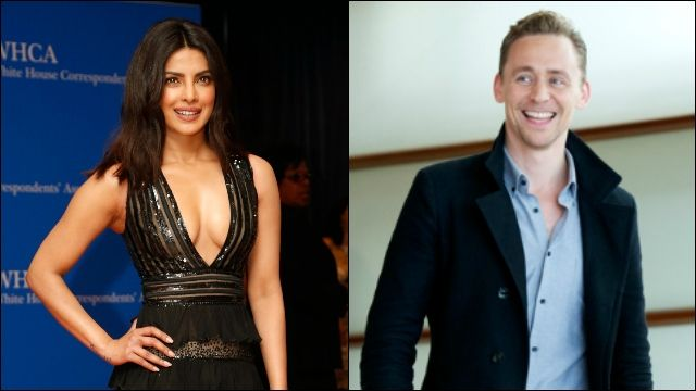 Priyanka Chopra with Tom Hiddleston at Emmy Awards together. http://newaffairsindia.com/