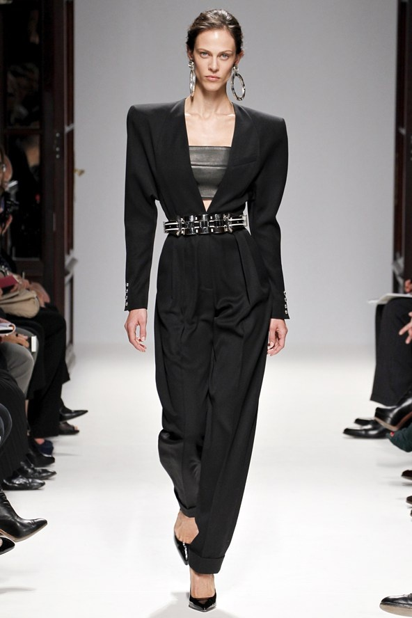 "4. TEEN SPIRIT 2.0  (Balmain, Dsquared2,...)  ""The 90's are back in an updated version, think grunge with a bit of glam."""