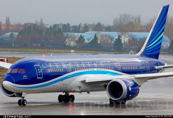 Azerbaijan Airlines Boeing 787-8 Dreamliner