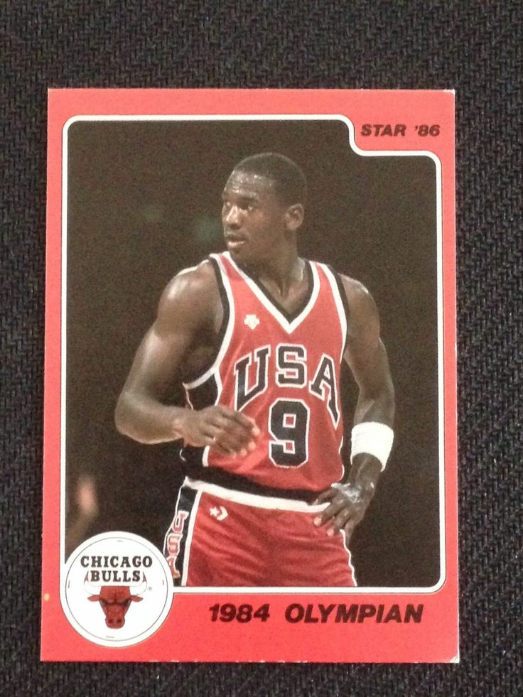 1986 star michael jordan favorite pro sports blog. Black Bedroom Furniture Sets. Home Design Ideas