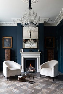 Victorian Living Room by Cochrane Design