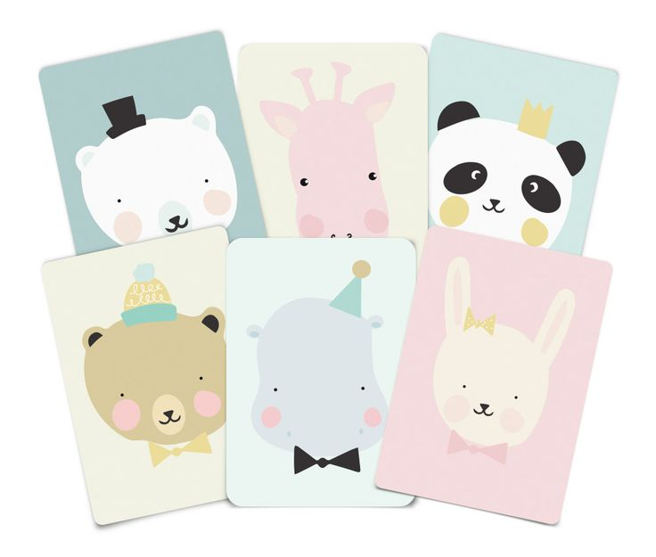 Lovely animals set | Eef Lillemor